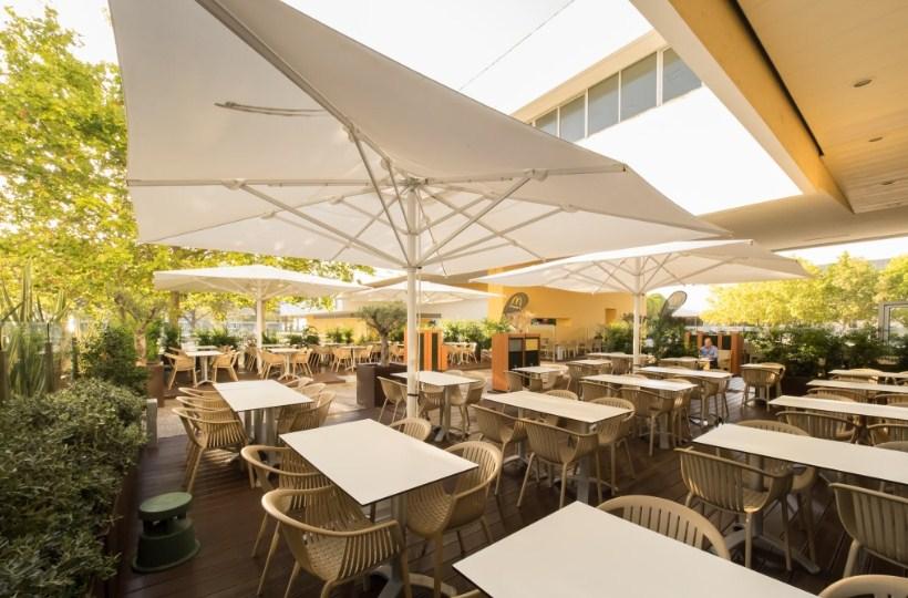 parasol ogrodowy barowy