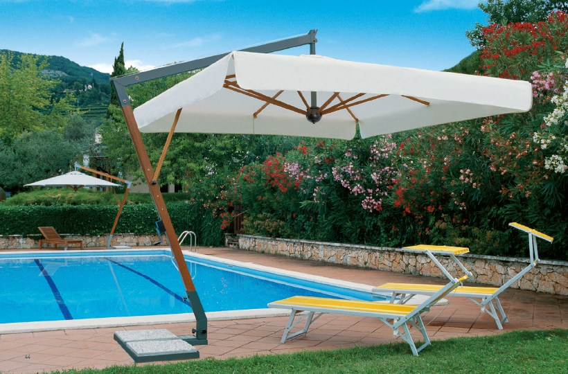 Parasole ogrodowe Torino Braccio